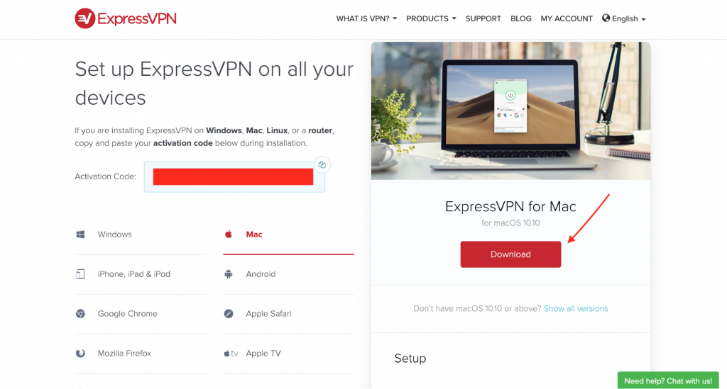 ExpressVPN Activation Code