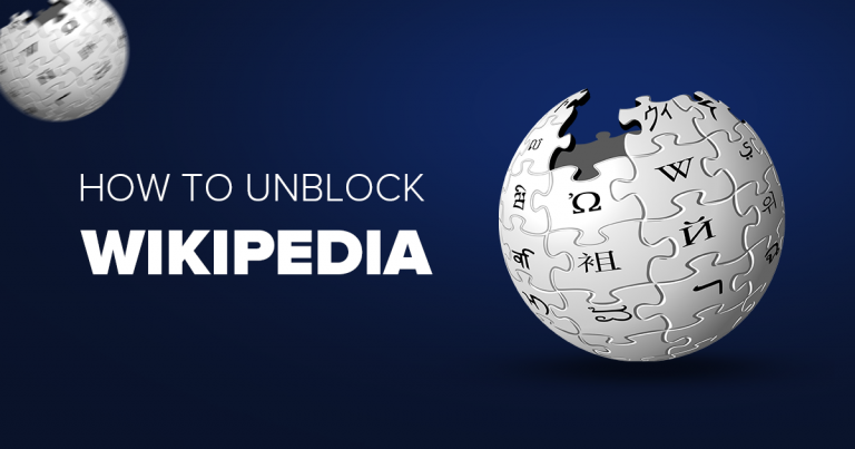 how to unblock wikipedia